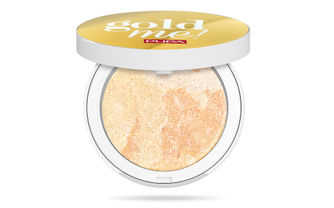 Gold Me! Trio Frost Highlighter - PUPA Milano