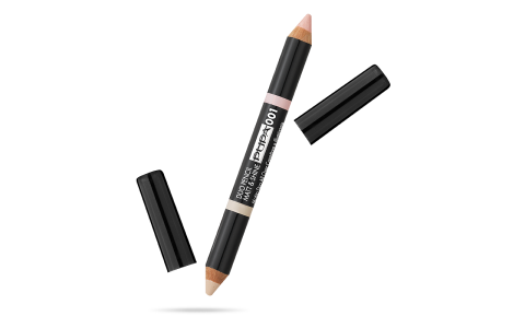 Duo Pencil Matt&Shine - Crayon Duo Correcteur et Illuminateur All Over - PUPA Milano