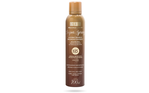 Super Spray Bronzant Invisible SPF 15 - PUPA Milano