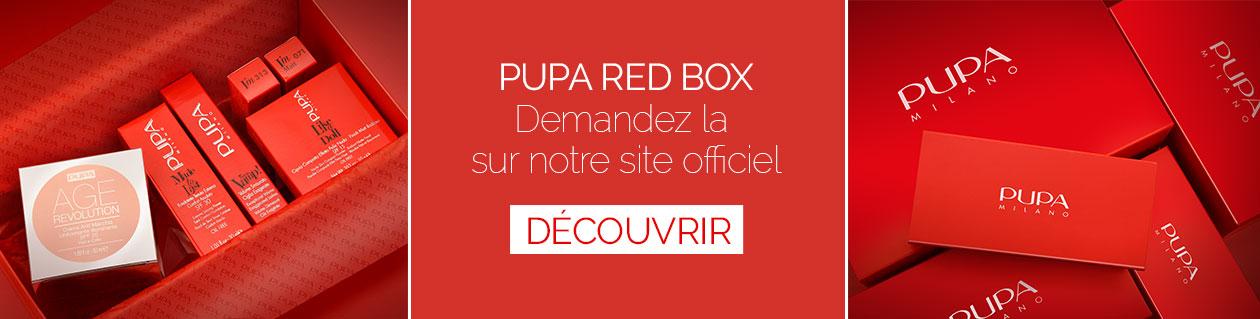 PUPA Red Box - PUPA Milano