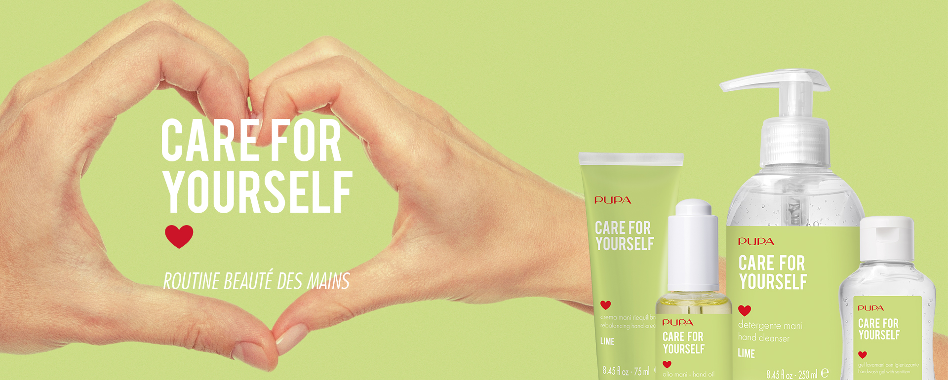Care for yourself - PUPA Milano