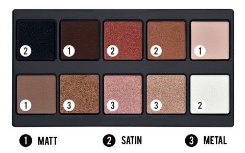 Make Up Stories Palette Spicy Nudes